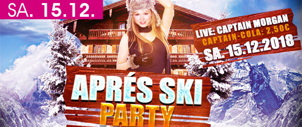 APRÉS SKI PARTY 2019! LIVE: CAPTAIN MORGEN & SEINE SEXY PIRATENCREW!